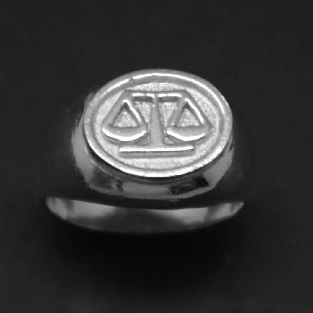 Lawyer Graduation Signet Ring