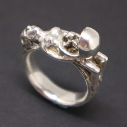 Women Pregnant and Baby Ring