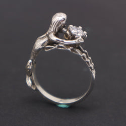 Mermaid Engagement Ring