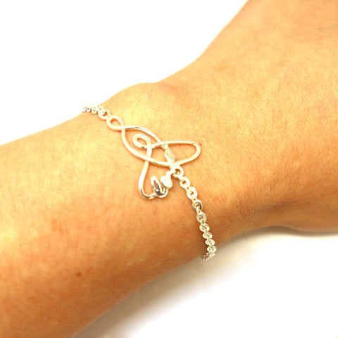 Mother Daughter Knot Love Bracelet