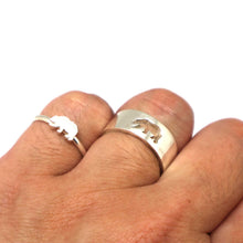Load image into Gallery viewer, Bear Couple Ring Set