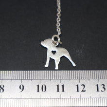 Load image into Gallery viewer, Pitbull Dog and Bone Y Lariat Necklace