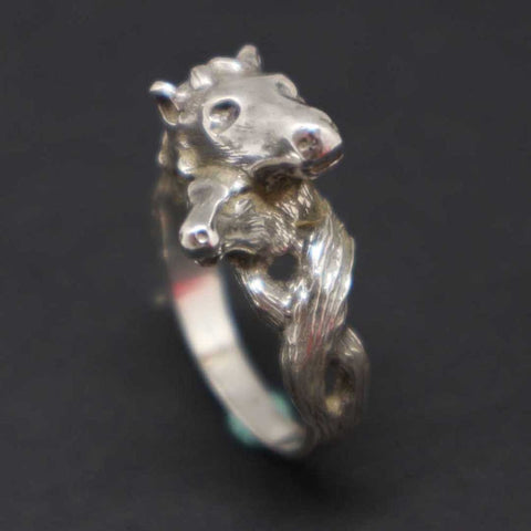 Mother and Child Horse Ring