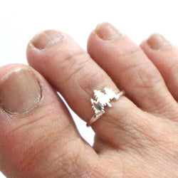 Tree Nature Toe Ring