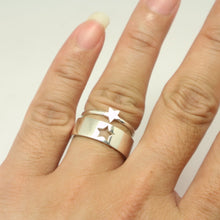 Load image into Gallery viewer, Star Promise Ring Set for Couple