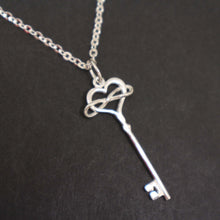Load image into Gallery viewer, Polyamory Key Necklace for Women