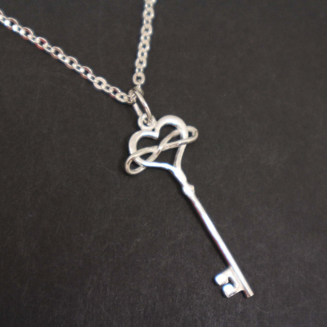 Polyamory Key Necklace for Women