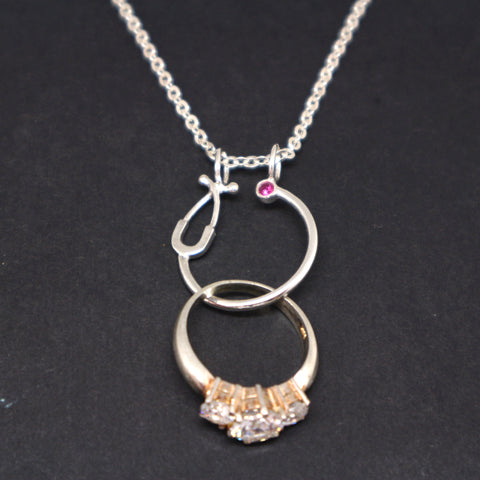 Wedding Ring Holder Necklace for Nurses
