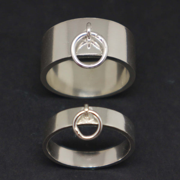 Master Slave Ring of O Ring for Couples