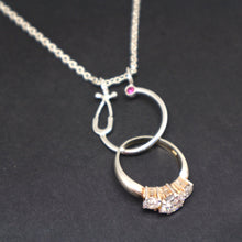 Load image into Gallery viewer, Wedding Ring Holder Necklace for Nurses