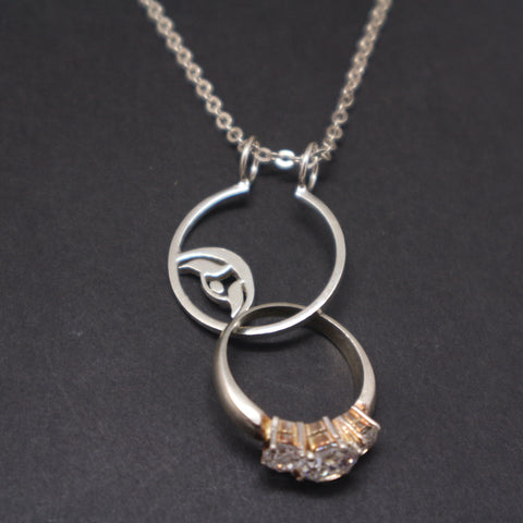 Sloth Ring Holder Necklace