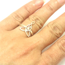 Load image into Gallery viewer, Mother and 2 Daughter Knot Ring
