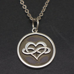 Polyamory Coin Style Necklace