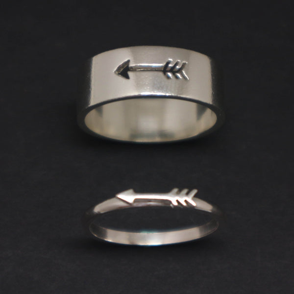Arrow Rings for Couples