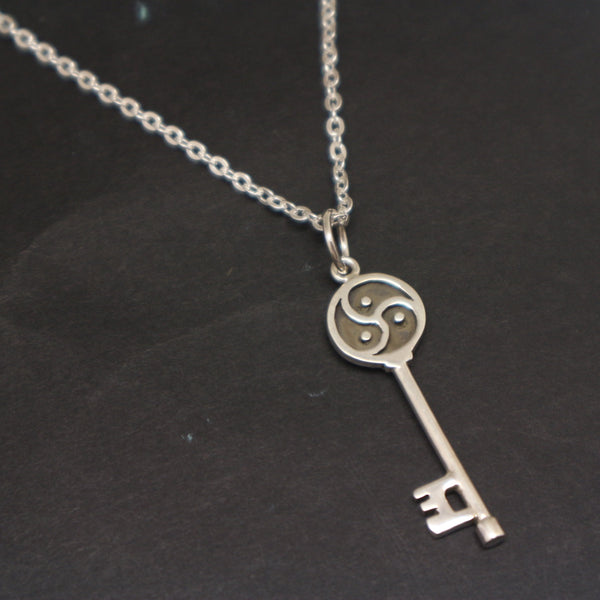 Master and Slave Key Necklace Pendant