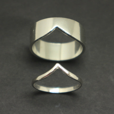 Chevron Matching Rings