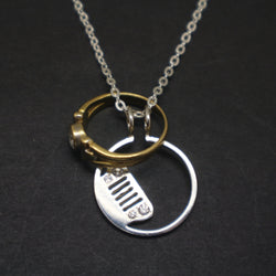 Jeep Grill Ring Holder Necklace