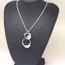 Load image into Gallery viewer, Paw Print Ring Holder Necklace
