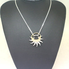 Load image into Gallery viewer, Sun Ring Holder Necklace