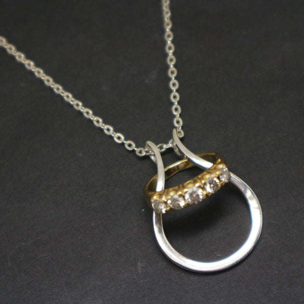 Ring Holder Necklace for Surgeon