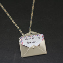Load image into Gallery viewer, Envelope Necklace