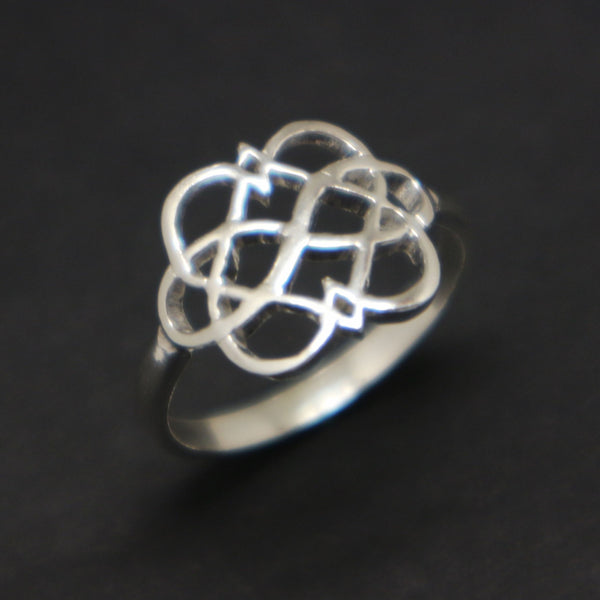 Polyamory Infinity Heart Ring