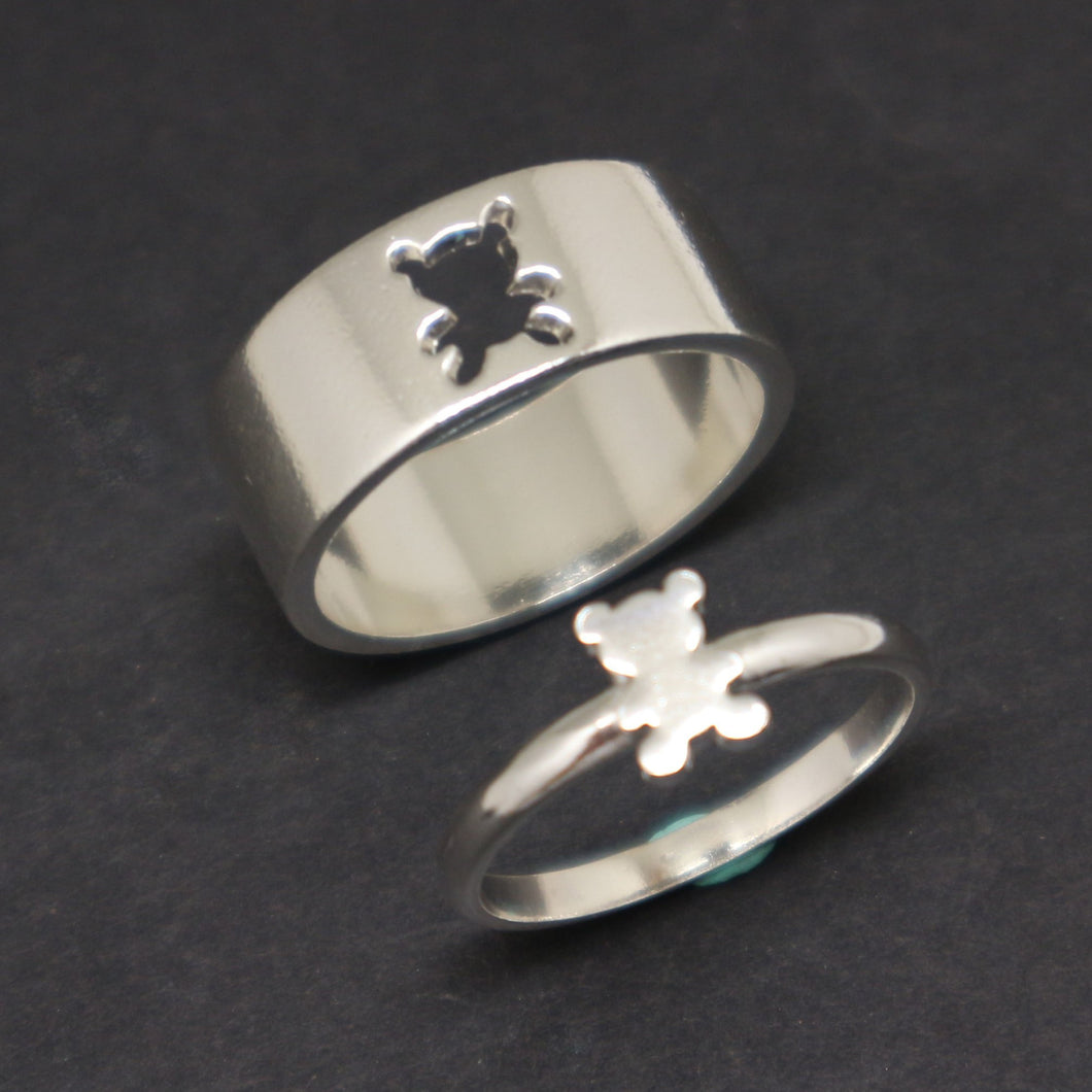 Bear Promise Ring for Couples