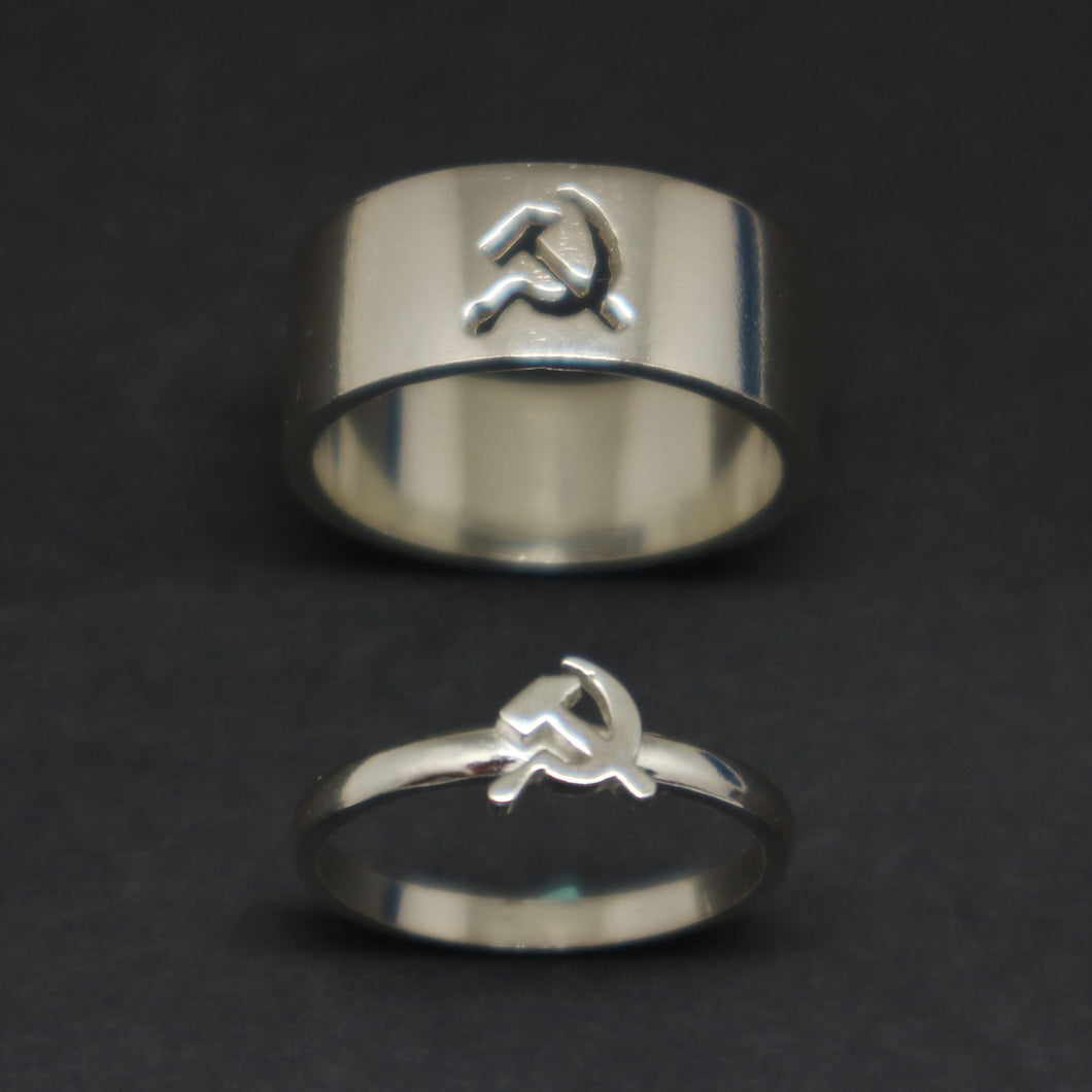 Communist Promise Ring for Couples