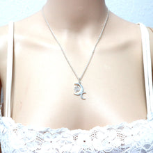 Load image into Gallery viewer, Silver Bisexual Jewelry Necklace
