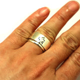 Lockable Puzzle Couple Ring