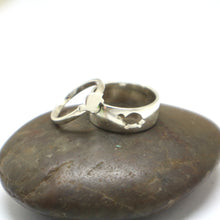 Load image into Gallery viewer, Turtle Dinosaur Promise Ring for Couples