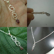Load image into Gallery viewer, Celtic Double Infinity Necklace