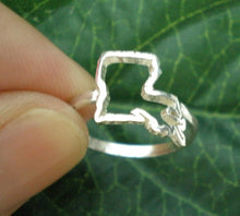 Load image into Gallery viewer, Lousiana State Pride Silver Ring