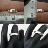 Silver Mustache Ring