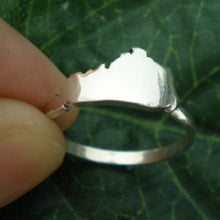 Load image into Gallery viewer, Silver Kentucky Home State Ring