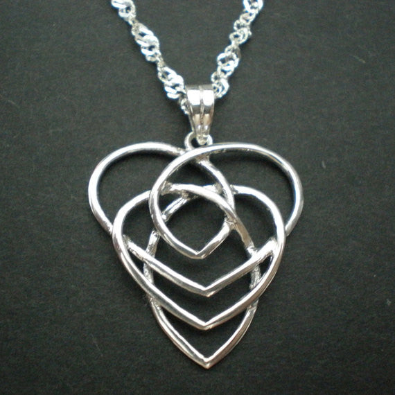 Celtic Knot Motherhood Necklace