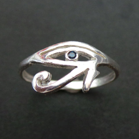 Egyptian Eye of Horus Ring