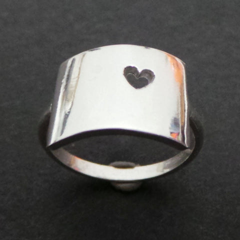 Silver State of Colorado Ring