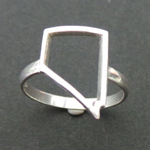 Load image into Gallery viewer, Nevada State Pride Silver Ring