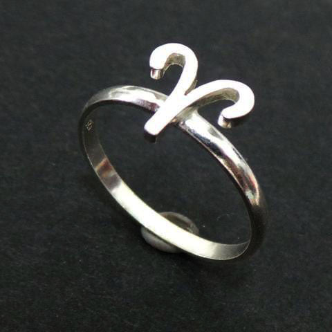 Aries Astralogy Zodiac Sign Ring