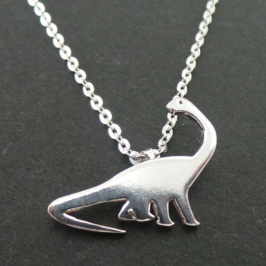 Brachiosaurus Dinosaur Necklace