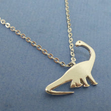 Load image into Gallery viewer, Brachiosaurus Dinosaur Necklace