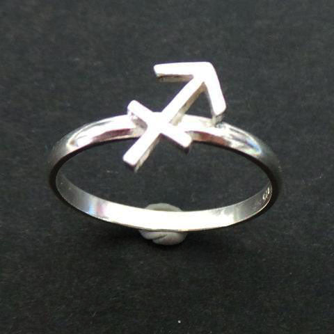 Sagittarius Zodiac Horoscope Arrow Ring