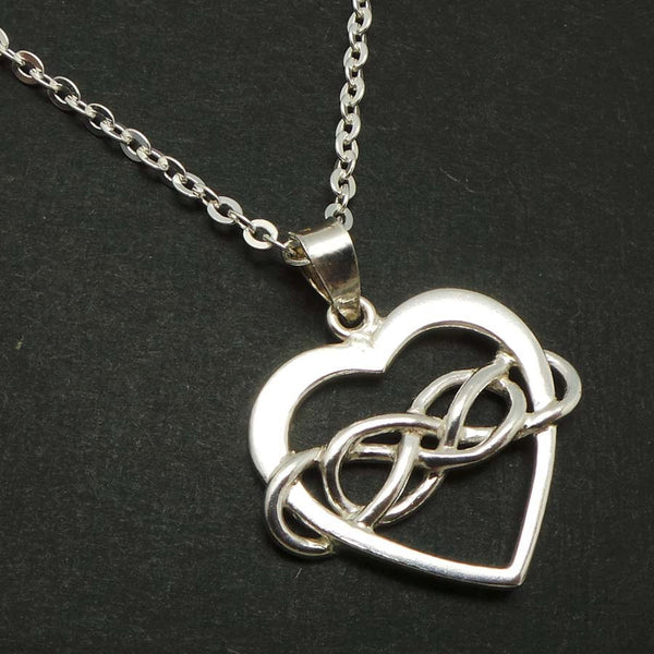Double Infinity Polyamory Necklace