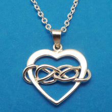 Load image into Gallery viewer, Double Infinity Polyamory Necklace
