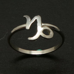 Capricorn Zodiac Sign Ring Jewelry