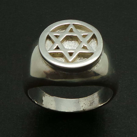Star of David Signet Ring