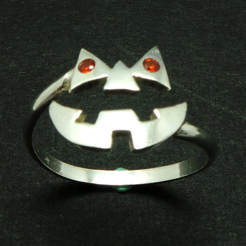 Silver Pumpkin Ring