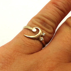 Music Note Bass Clef Ring