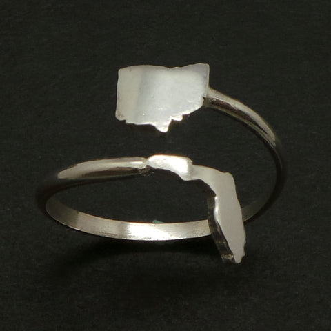 Ohio and Florida 2 States Ring